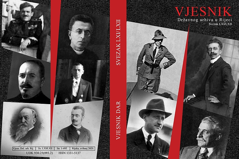 The book cover of the new Vjesnik